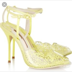 Sophia Webster Kiki Lace Print Shoe